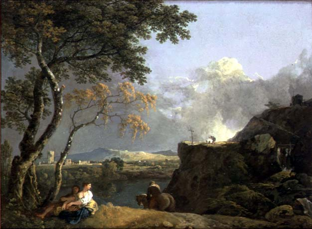 The White Monk | Richard Wilson | oil painting