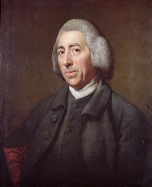 Portrait of Lancelot Capability Brown | Nathaniel Dance Holland | oil painting