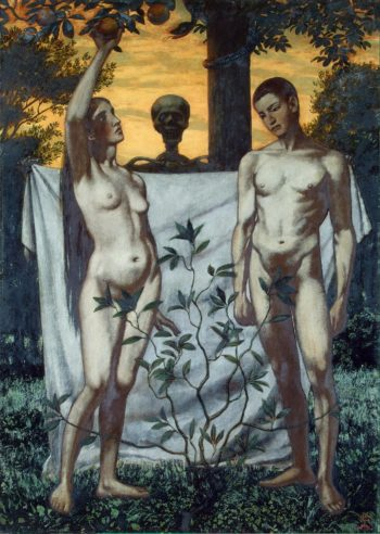 Adam and Eve | Thoma Hans | oil painting