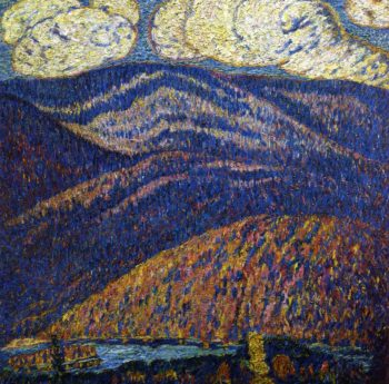 Hall of the Mountain King | Marsden Hartley | oil painting