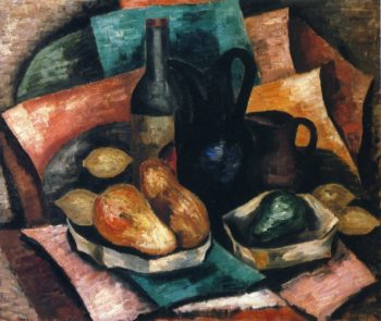 Still Life with Bottle and Pitchers | Marsden Hartley | oil painting