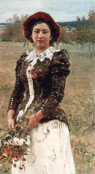 Autumn Bouquet 1892 | Ilya Repin | oil painting