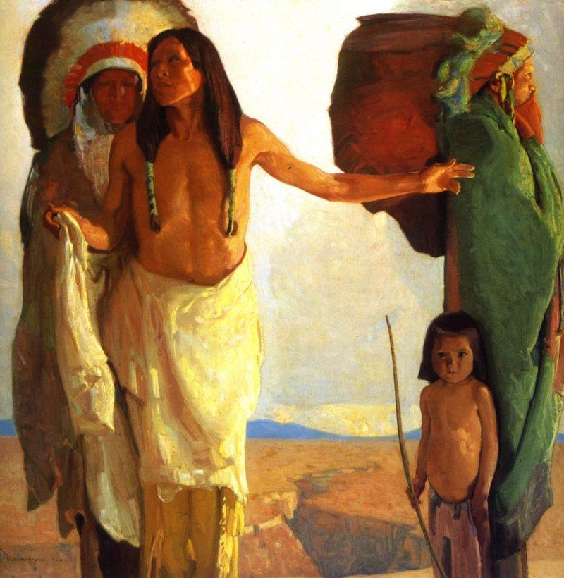 The Peacemaker | Ernest L Blumenschein | oil painting