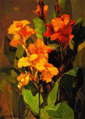 Canna Lilies | Franz Bischoff | oil painting