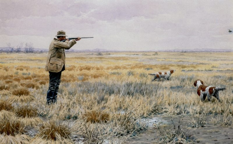 English Snipe | Arthur B Frost | oil painting