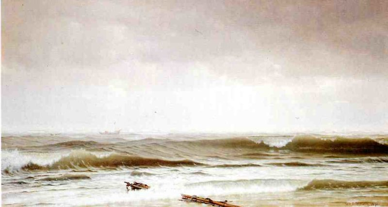 Along the Shore | William Trost Richards | oil painting