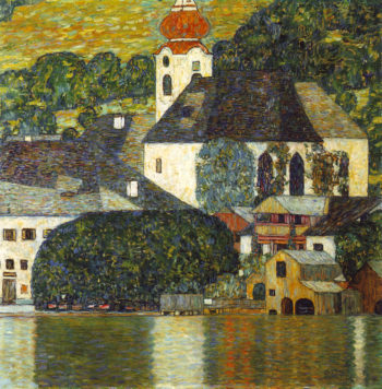 Church in Unterach on the Attersee | Gustav Klimt | oil painting
