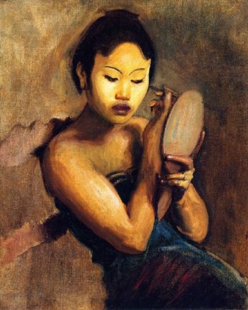 A Javanese Girl at Her Toilet | John Singer Sargent | oil painting