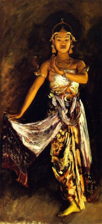 A Javanese Dancer 1 | John Singer Sargent | oil painting