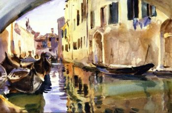 A Smal Canal Venice | George Heidrik Breitner | oil painting