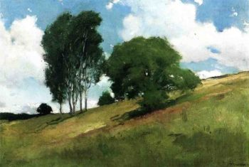 Landscape Painted at Cornish New Hampshire | John White Alexander | oil painting