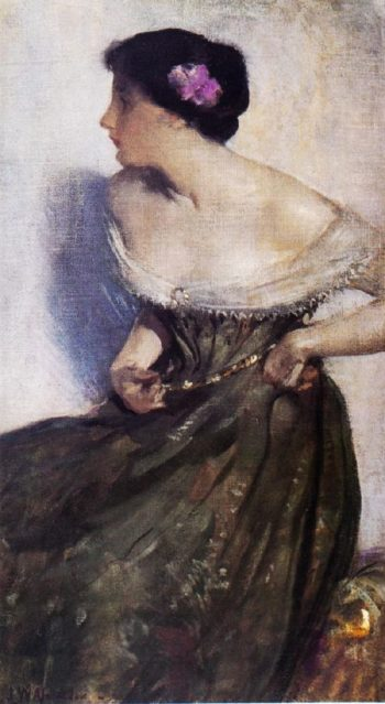 Portrait of a Lady | John White Alexander | oil painting