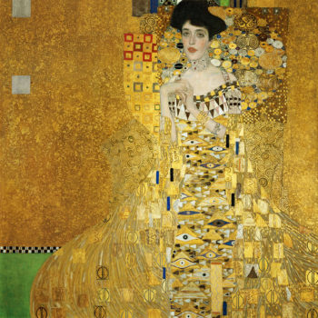Adele Bloch Bauer I - 31 x 35.5 inches | Gustav Klimt | oil painting