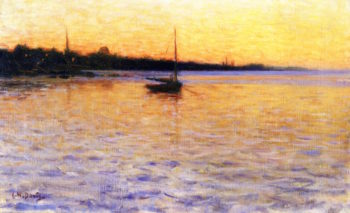 Twilight on the Water | Charles Harold Davis | oil painting