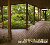 Album Meditations for Pecussion and Flute by Randall Sutin