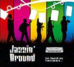 Album Jazzin' Around featuring Howard Levy, Frank Gambale by David Herzhaft
