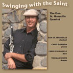 Album Swinging With The Saint by Dan St. Marseille
