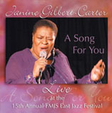Album A Song For You: Live by Janine Gilbert-Carter
