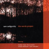 Sam Sadigursky: Sam Sadigursky: The Words Project