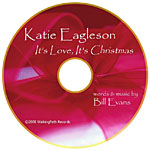 Album It's Love, It's Christmas by Katie Eagleson