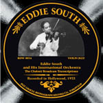 Eddie South: 1933: The Cheloni Broadcast Transcriptions