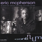 Album Continuum by Eric McPherson