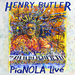 Album Pianola Live by Henry Butler