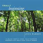 Album Finally Beginning by John Warren
