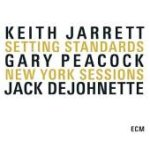 Album Setting Standards: New York Sessions by Keith Jarrett