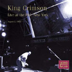 King Crimson: Live at the Pier, New York, August 2, 1982