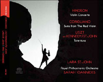 Hindson, Corigliano, Liszt/Kennedy/St. John