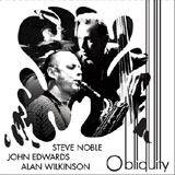Album Obliquity by Steve Noble