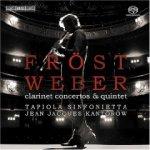 Martin Frost / Tapiola Sinfonietta / Jean-Jacques Kantorow: Weber: Clarinet Concertos and Quintet