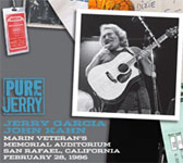 Jerry Garcia: Pure Jerry: Marin Veterans Memorial Auditorium, 2/28/86