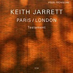 Keith Jarrett: Keith Jarrett: Testament - Paris / London