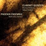 Phoenix Ensemble / Mark Lieb: Clarinet Quintets: Morton Feldman, Milton Babbitt