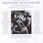 Anthology of Swing Strings (1930s-1950s):  Professor Visits Harlem or Swingin