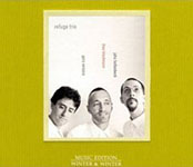 "Read ""Refuge Trio"" reviewed by Glenn Astarita"
