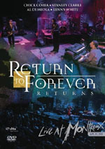 "Read ""Return To Forever: Returns - Live at Montreux 2008"" reviewed by"