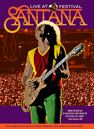 "Read ""Santana Live At US Festival"" reviewed by Doug Collette"