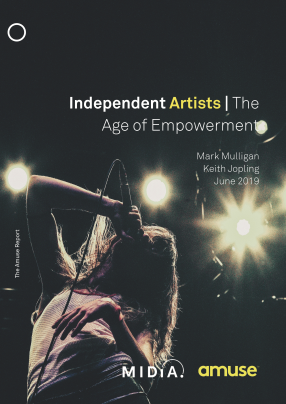 FREE REPORT: Independent Artists In The Age of Empowerment [Mark Mulligan]