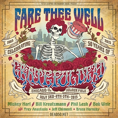 "Read ""Fare Thee Well: A Celebration of Fifty Years of the Grateful Dead, July 3,4 & 5, 2015"""