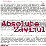 Absolute Ensemble Featuring Joe Zawinul: Absolute Zawinul