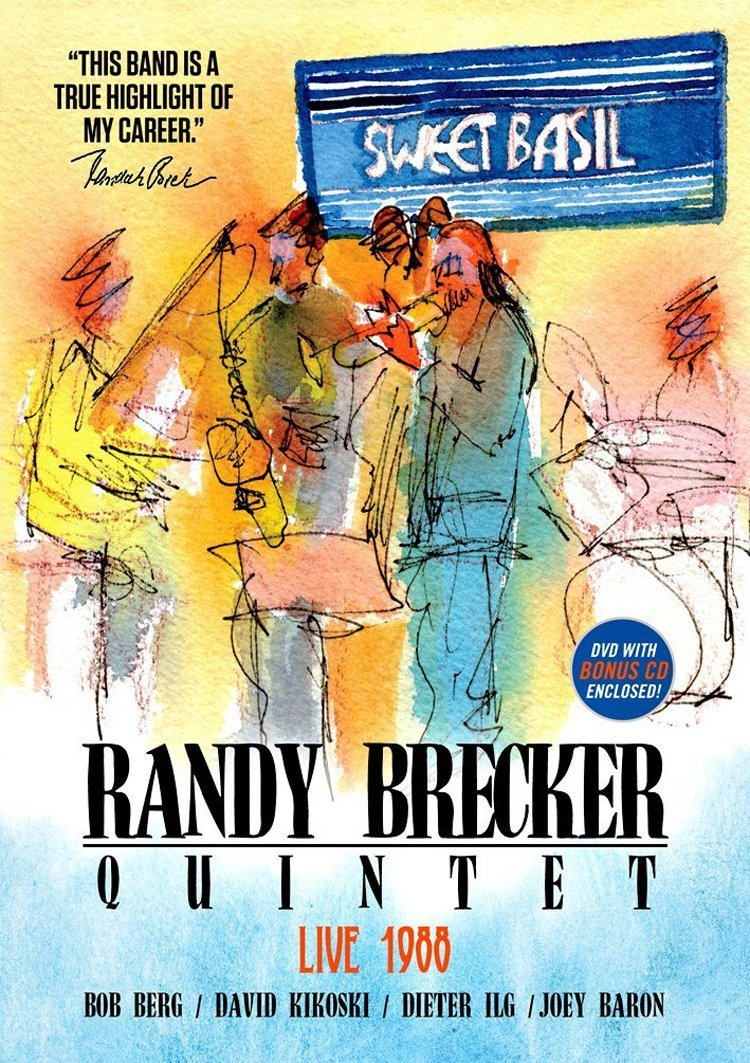 "Read ""Randy Brecker Quintet: Live at Sweet Basil 1988"" reviewed by"