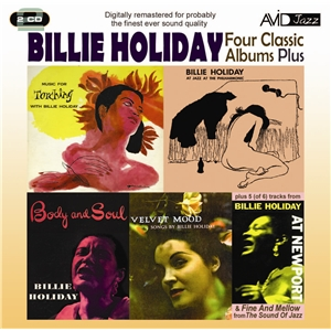 "Read ""Billie Holiday: Four Classic Albums Plus"" reviewed by David Rickert"