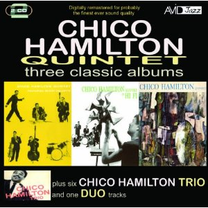 "Read ""Chico Hamilton Quintet: Three Classic Albums"" reviewed by"