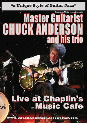 "Read ""Chuck Anderson Trio: Live at Chaplin's Music Cafe"" reviewed by"