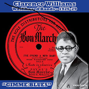 "Clarence Williams: Washboard Bands: 1926-29, ""Gimme Blues"""