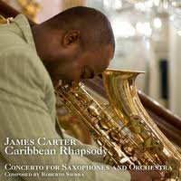 Album James Carter: Caribbean Rhapsody by James Carter