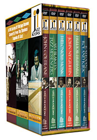 """Order Jazz Icons 5 (6-DVD Set) - Includes Coltrane's """"Ascension,"""" Monk Solo and more!"""